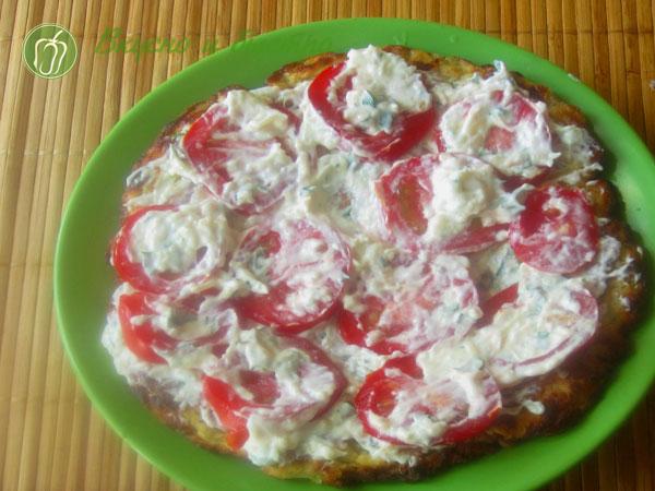 СКабачковый торт рецепт с фото - с сыром
