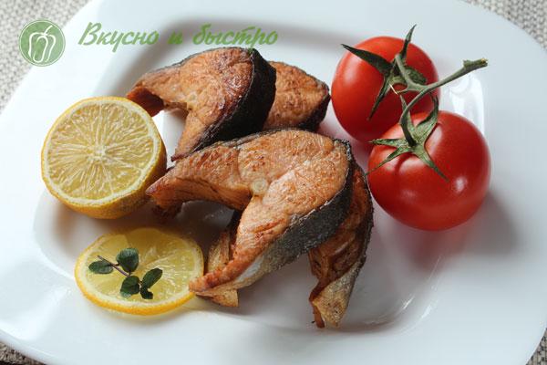 Рецепт горбуша на мангалеы